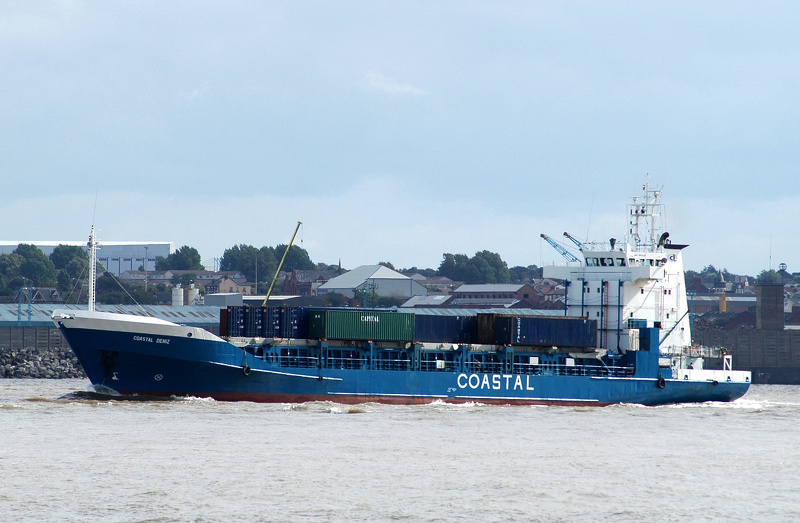 Coastal Deniz IMO 9002128 3125gt Built 1991 General Cargo Ship Flag Antigua Barbuda