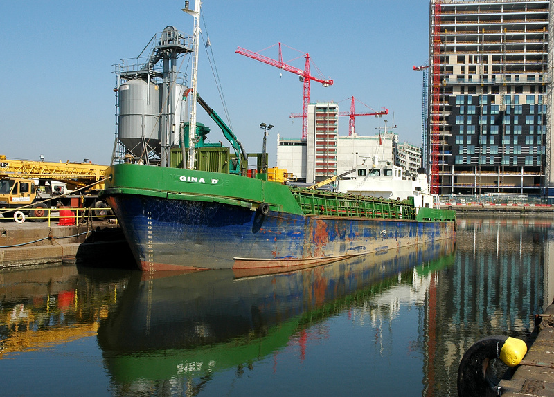 Gina D at Manchester Dry Docks