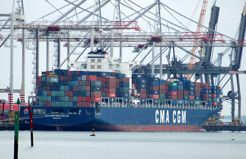 CMA CGM Don Carlos IMO 9305491 at Southampton Container Port
