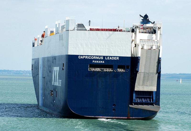 Capricornus Leader in Southampton Water