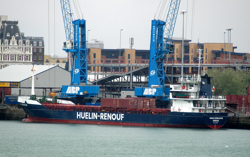Huelin Endeavour IMO 8215807 2046gt Built 1983 General Cargo Ship Flag Ireland