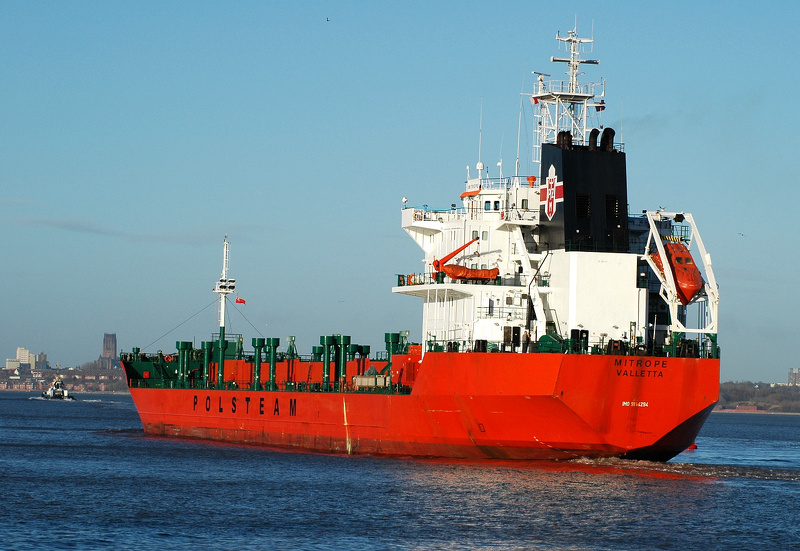 Mitrope IMO 9154294 11530gt Built 1999 Chemical Tanker