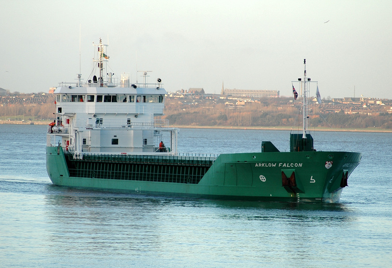 Arklow Falcon IMO 9527659 Built 2010 General Cargo Ship