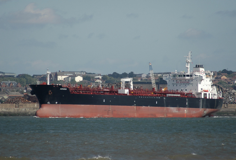 Adara IMO 9587829 Built 2011 Oil Products Tanker